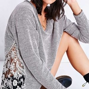 Urban Outfitters Staring At Stars Lace Sweater XS